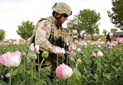after the invasion of US in 2002 Afghanistan is largest heroin production in the world
