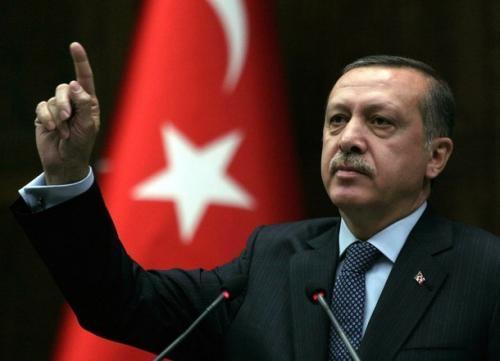Islamist Prime Minister Recep Tayyip Erdogan