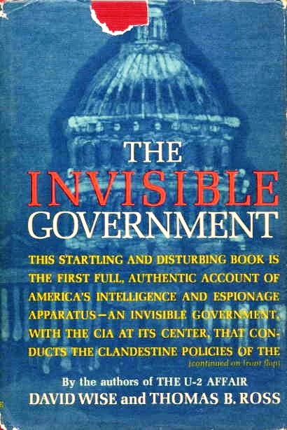 The Invisible Government Book Cover