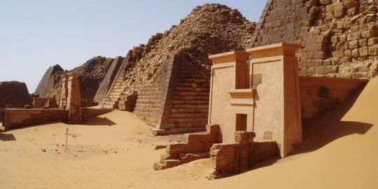 Nubia was inhabited at least 60,000 years ago in North Sudan and Souh Egypt