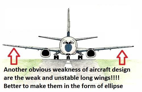 Aircraft design error 2