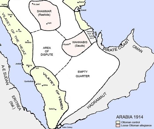 Arabia 1914