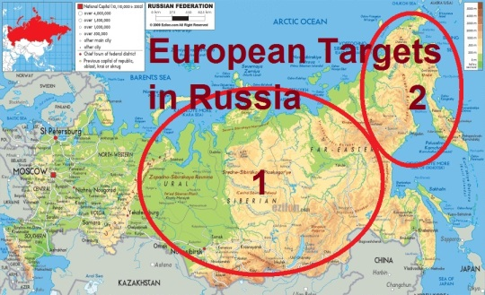 EU Targets Central and Eastern Russia
