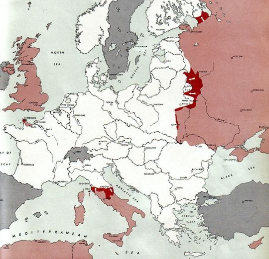 Only Russia Fought Heroically in World War II 1944-07-01