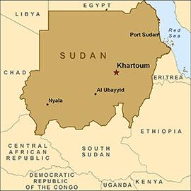 The Sudan map
