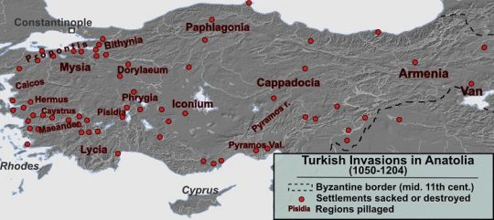 Turks Invasion to Anatolia