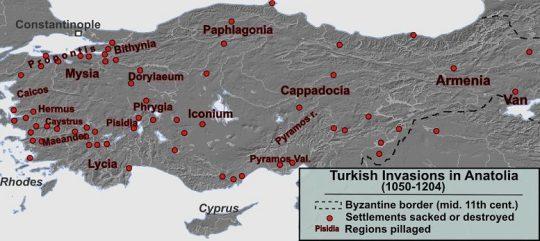 Turks Invasion to Anatolia