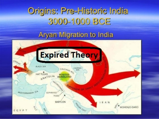 Aryans in India are not Aryans but Turkic