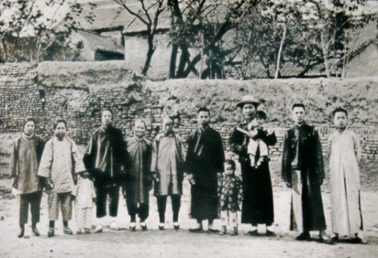 Kaifeng Jews in 1900