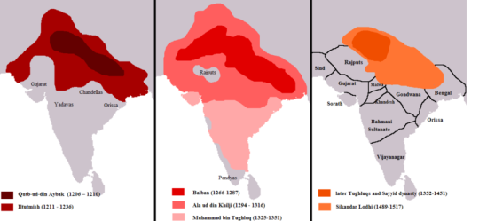 Delhi Sultanate (1206–1526 AD)
