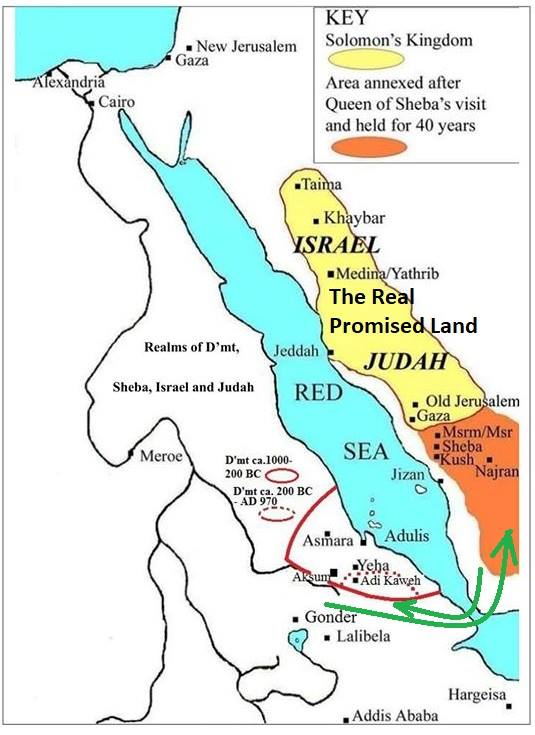 The Original Promised Land to Israelite