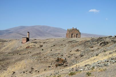 The Cathedral of Ani in the Armenian city of the same name in eastern Turkey. New research has claimed the Yiddish language likely originated in four villages in this area, rather than in Germany as previously thought Dominic Dudley/Pacific Press/LightRocket via Getty Images