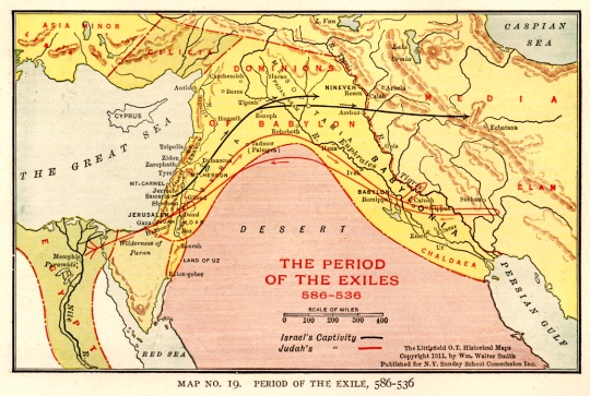 Period of the Exile, 586-536