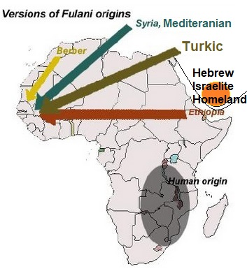 Possible Israelite Link to the Fulani