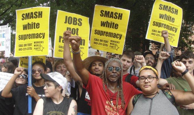 Charlottesville smash white supremacy