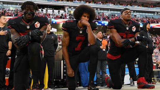 Kaepernick Protest and Anti-NFL BlackOut