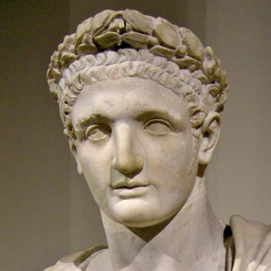 Roman Emperor Domitian (51 - 96)