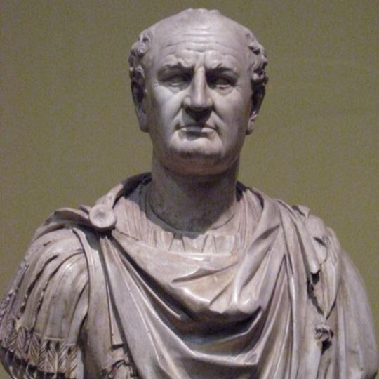 Roman Emperor Vespasian (9 AD –79 AD)