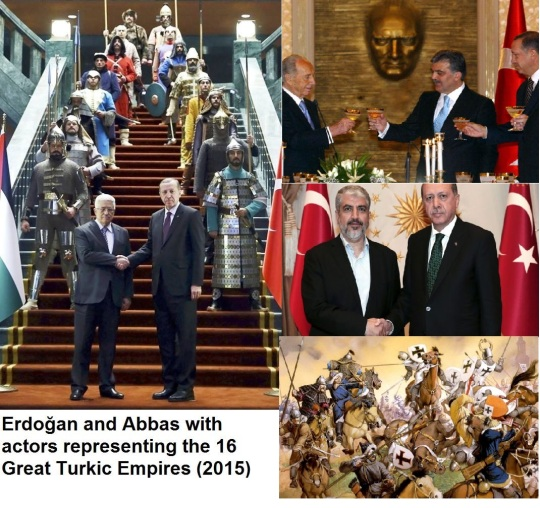 Turkic Mongolians in Middle East, Europe, and Israel