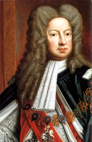 George I, the king of England from House of Hanover from Germany which is originally Jews from Italy