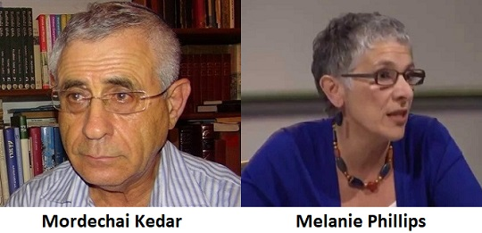 Mordechai Kedar and Melanie Phillips