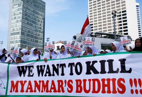 Who is Right? The Muslim Rohingya or the Buddhist Myanmar?