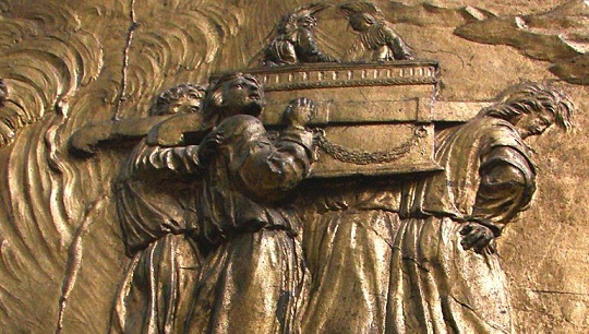 Carrying the Ark of the Covenant