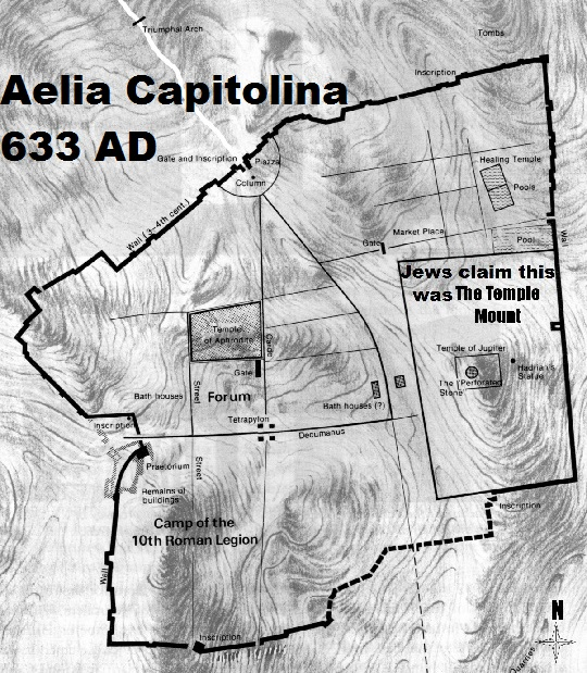 It is Aelia Capitolina NOT Bei...