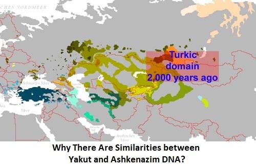 Why There Are Similarities between Yakut and Ashkenazim DNA