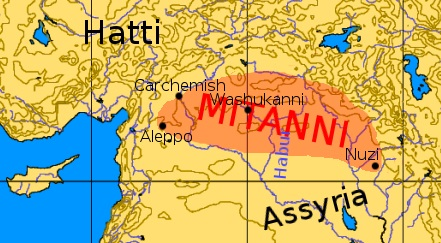 Kurds and Turkic Mongolians and the Mitanni Kingdom 1500-1300 BC