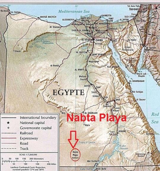 Nabta Playa the common origin of Kemet and Kerma