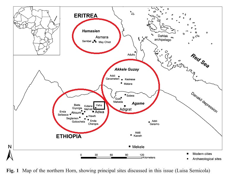 Fattovich found three distinct ceramic traditions in a part of Punt