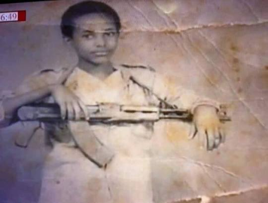 Abiy Ahmed at 14 years