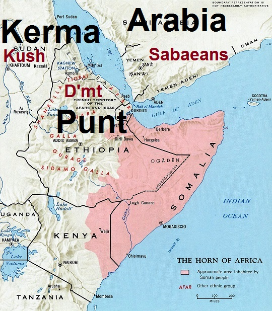 How did the Civilizations of Punt and Karma Fall