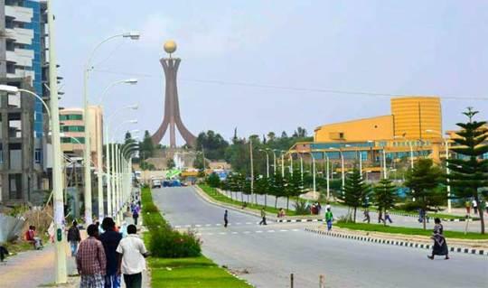 Mekelle City Tigrai Ethiopia