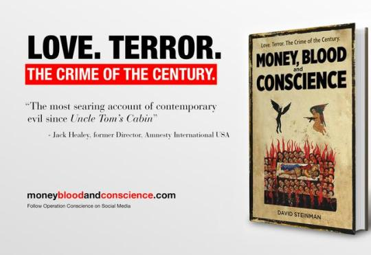 David Steinman author of a 2017 book, Money, Blood and Conscience