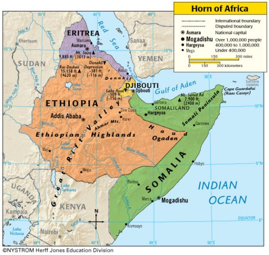 The great Role of Abyssinia in Liberating the Region