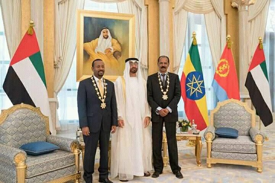 UAE awards leaders of Ethiopia, Eritrea for peace agreement