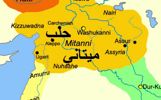Mitanni of expelled Hyksos and their Kurds